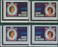 Cook Islands 1982 SG834-846 Diana birthday and Prince William MLH