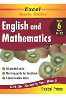 New Excel English Literacy and Mathematics Numeracy Workbook Year 6 Test!