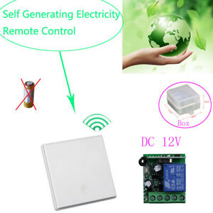 12V Relay Switch Module Self Generator Electricity Remote Control Switch Receive