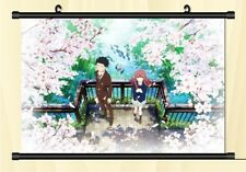 Anime Fiber Poster.A Silent Voice.The Shape Of Voice.Collection.Scroll.6 0cmX40cm