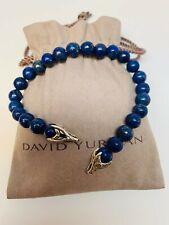 "Spiritual Bead Bracelet 8.5"" David Yurman Men's Lapis Lazuli"