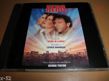 HERO soundtrack CD GEORGE FENTON Luther Vandross dustin hoffman geena davis