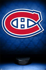 MONTREAL CANADIENS Official NHL Hockey Team Logo Theme Art Wall POSTER