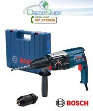 Trapano demolitore 28mm 850W SDS Plus + mandrino cremagliera Bosch-GBH 2-28 DFV