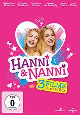 3 DVDs * HANNI & ( UND ) NANNI 1-3 COLLECTION - 1+2+3 BOX # NEU OVP +