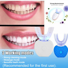 Automatic Electric 360° Whitening Toothbrush Ultrasonic Wireless Tooth Cleaner