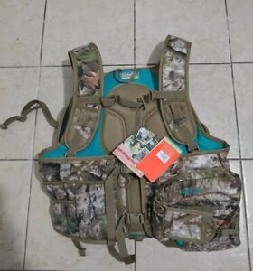 Cabelas zonz Womans Hunting Vest with  Seat Cushion Sz S/M NWT