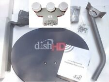 Dish Network 1000.2 Satellite Antenna KIT Hybrid Triple Western LNB 129 119 110