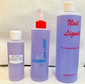 Acrylic Nail Purple Liquid Monomer 5oz, 8oz, 16oz for Acrylic Nails FREEPOST AUS