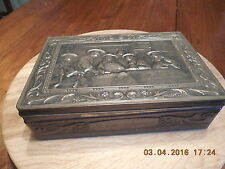 "Vintage Tin Box ""The Syndics by Rembrandt"""