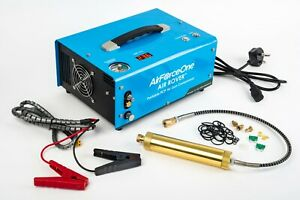 AirForceOne® Air Rover 12V/240V 300 BAR Portable PCP Airgun Compressor. UK Plug