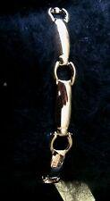 "Jewelry Bracelet PREMIER DESIGNS GOLD COAST Link 7"" Gold Plated Clasp Closure"
