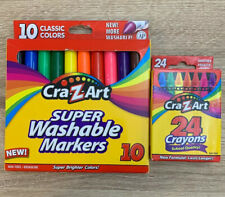 Cra z art Super Washable Markers And 24 Crayons Set