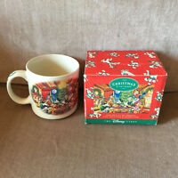 Disney Store Christmas at Our House Mickey Vintage Coffee Mug Box 1995