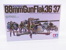 Interhobby 23984 Tamiya 35017 88mm Gun Flak 36/37 Geschütz 1:35 Bausatz NEU OVP