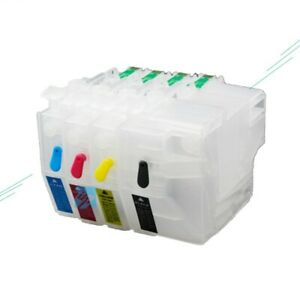 1Set LC3719 XL Empty refillable Ink Cartridge For Brother MFC-J2330DW MFC-J3930D