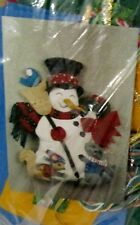 Design Works Crafts Frosty the Snowman Felt Wall Hanging Kit #5109