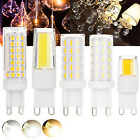 Dimmable LED Corn Bulb COB SMD G9 Ceramic Light 6W 7W 8W 9W Replace Halogen Lamp