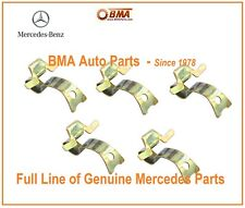 NEW Genuine Mercedes W107 W115 W116 W123 68-85 Set of 5 Hub Cap Clips1234010128