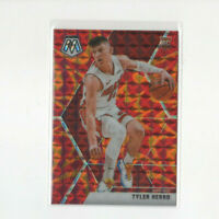 2019/20 Panini Mosaic Reactive Orange Prizm Tyler Herro Rookie Card #223 HEAT RC