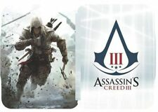 Assassin's Creed III 3 Steelbook case - BRAND NEW Factory Sealed - Assassins