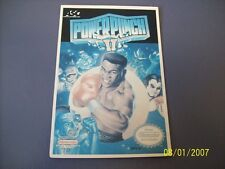 POWER PUNCH II  NES 8 Bit Nintendo Vidpro Card