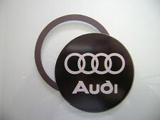 Magnetic Tax disc holder fits any audi as a1 a2 a3 a4 a5 a7 a8 q5 q7 tt  rs4 m l