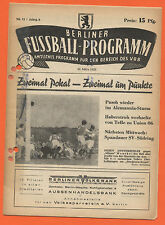 Orig. PRG 22.03.1953 Berlin contract League-All games, brackets, etc.