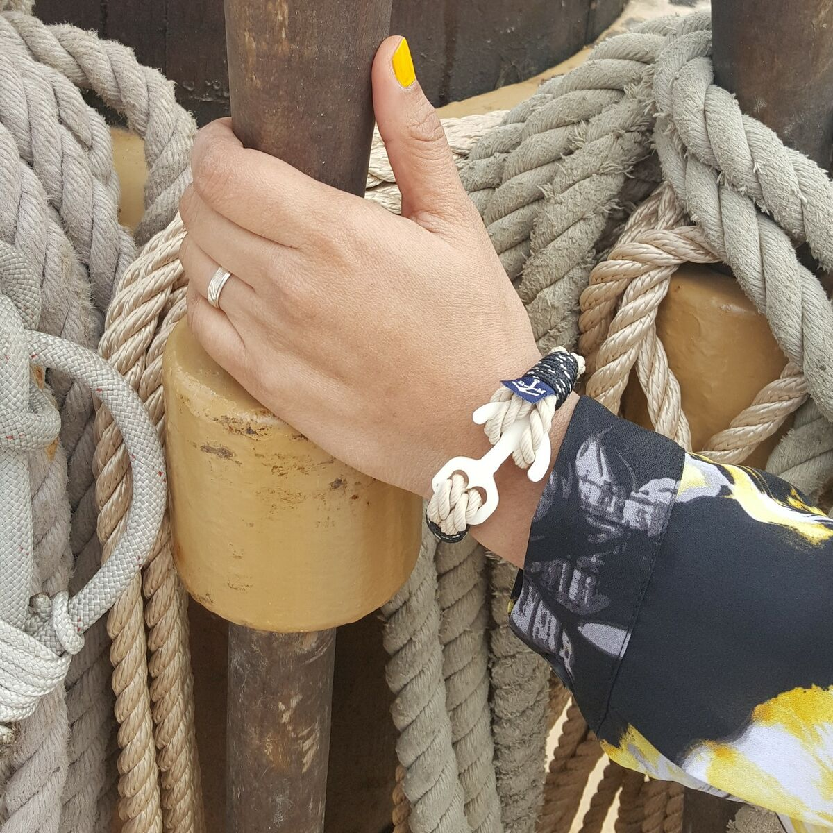 Nautical Bracelets by Bran Marion