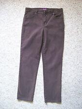 Womens Brown Jeans Straight Leg Amanda, Size 8 Gloria Vanderbilt