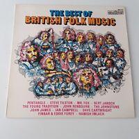 The Best Of British Folk Music Compilation Vinyl Album LP EX+/EX