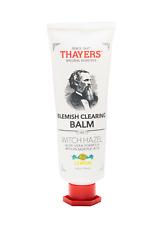 Thayers 4 oz Lemon Blemish Clearing Balm Witch Hazel 2% Salicylic Acid acne