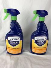Lot of 4 Multi-Purpose Disin Cleaners 32oz Citrus Scent
