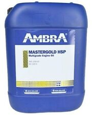 SEMI-SYNTHETIC MASTER GOLD ENGINE OIL 15w40 20LT AMBRA PETRONAS NEW HOLLAND