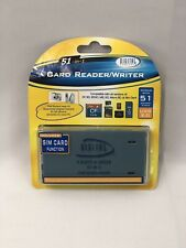 New 51-in-1 Card Reader/Writer CR-75P Compatible w/all SD, CF, MS, SDHC, XD