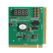 More details for new 4-digit lcd display pc analyzer diagnostic card motherboard post tester uk