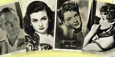 Vintage Original ☆ FILM STAR ☆ Postcards from around the World - List B1