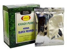 Khadi Herbal Chandan Mehandi Powder Make the Hair Natural Black 80gm