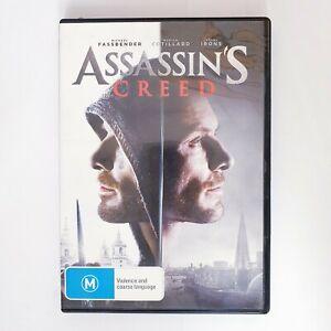 Assassins Creed Movie DVD Region 4 AUS Free Postage - Action Scifi