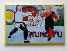 "KUNG FU  side B Metal LUNCHBOX   2"" x 3"" Fridge MAGNET ART"