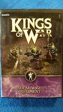 Mantic Kings of War Undead 28mm Wights Regiment Box BNIB