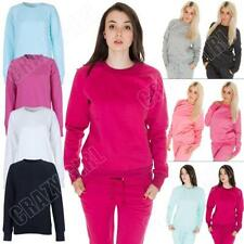 Unbranded Crew Neck Plus Size Hoodies & Sweats for Women