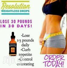 Risoluzione gocce, perdita di peso, Snellente, loose peso, detox, cambia vita totale