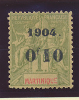 Martinique Stamp Scott #60, Mint Hinged