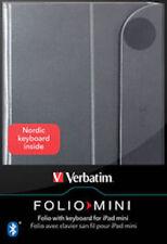 Cheap Verbatim Folio Pro Case with Bluetooth Keyboard for iPad MINI UK STOCK