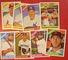 2015 Topps Heritage & Heritage High Number Lot - You Pick 25 (Inserts included)