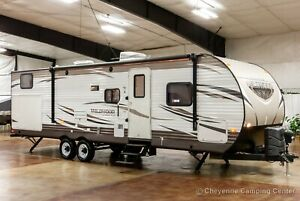2016 Forest River Wildwood 30KQBSS Used Bunkhouse Travel Trailer for Sale Cheap