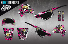 PW50 GRAPHICS MOTOCROSS MX DECAL KIT PEEWEE 50 PW 50 STICKER GRAPHIC KIT