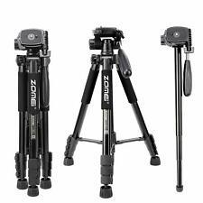 Zomei Q222 Lightweight Aluminum Tripod Monopod Portable Travel Camera Stand