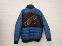 NHL Vintage 90s ProLine Washington Capitals Logo Spell Out Jacket puffa Mens L